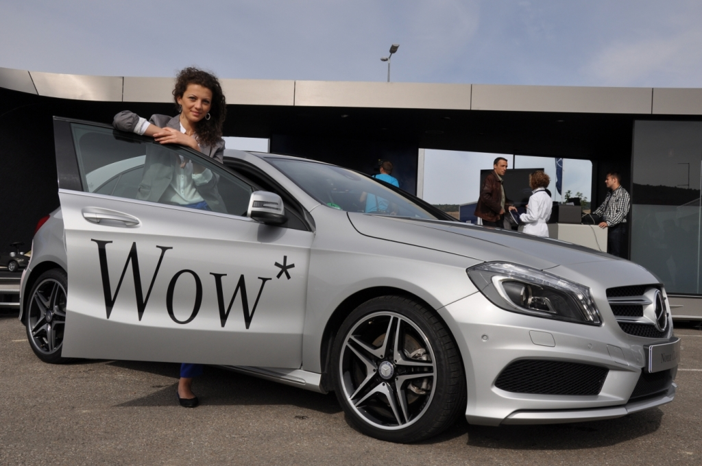 MERCEDES A CLASA LAUNCH IN ROMANIA