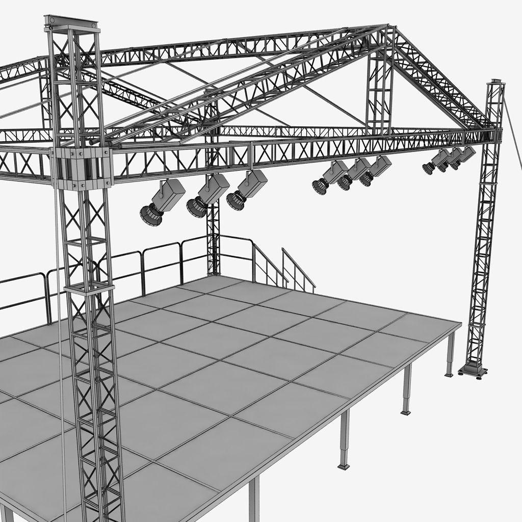 music-stage-platform-scaffolding-3d-model-max-obj-3ds-fbx-mtl
