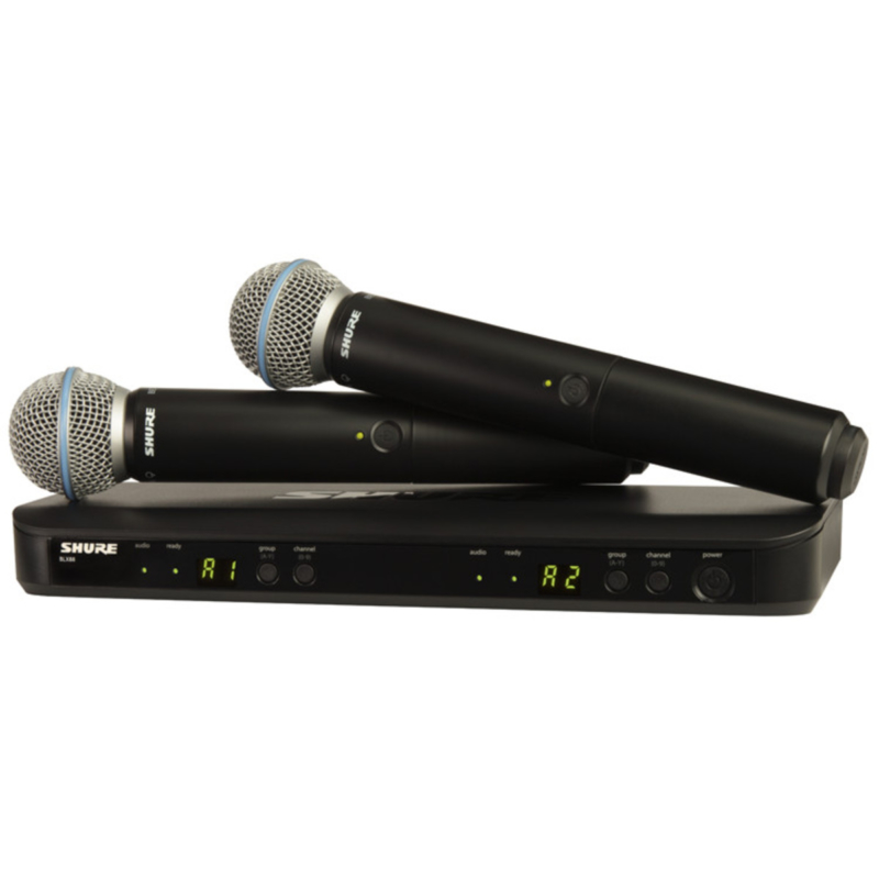 Shure BLX288 – Beta58 Combo Q25
