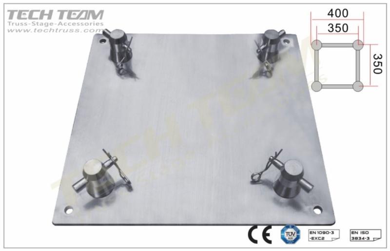 TechTruss Base Plate 35x35cm