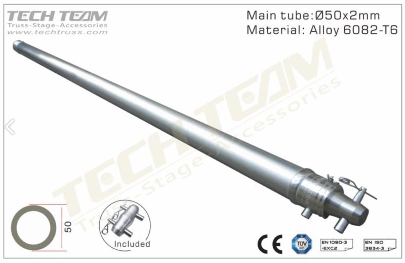 TechTruss 0.5/1/2m Single Tube